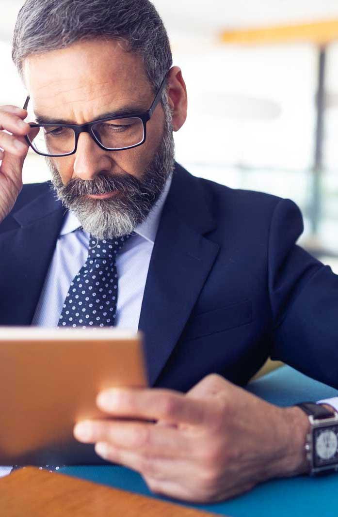 smartphone dispositivi mobili business della produttività