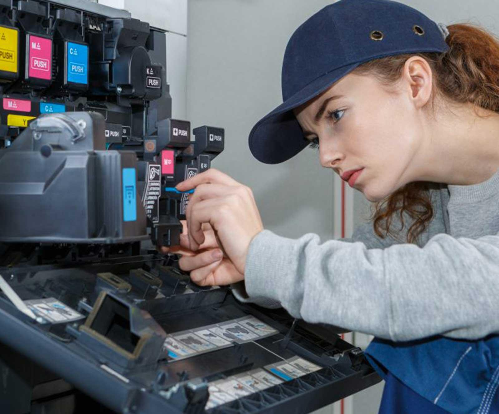 Stampanti ricondizionate garantite un anno e tecnici esperti per la manutenzione