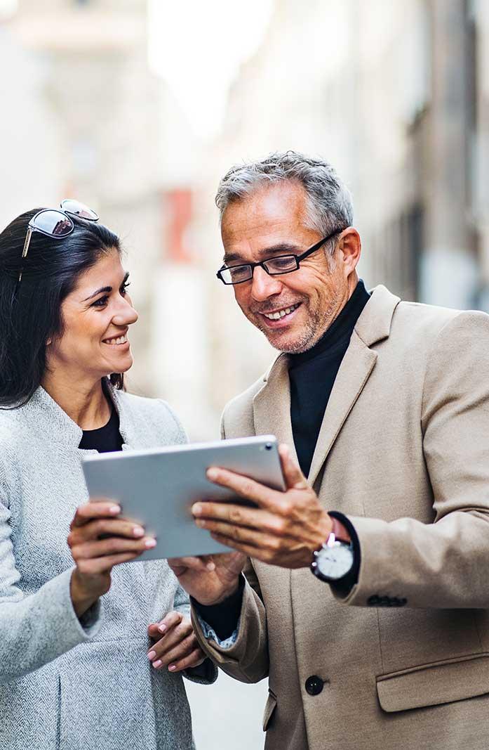 tablet innovazione azienda commerciale