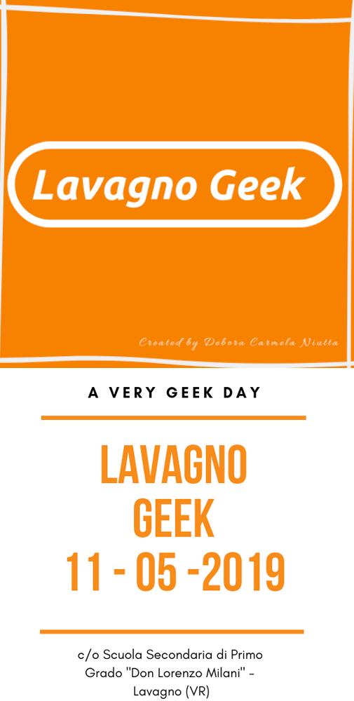 locandina dell'evento lavagno geek