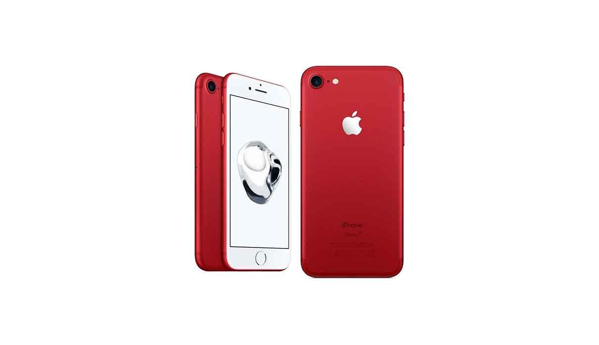 iPhone 7 128 gigabyte gb red