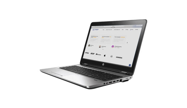 ProBook 650 G1 aperto sulla pagina web di globalbit.it