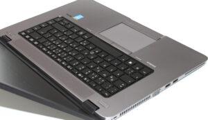 Particolare tastiera EliteBook 850 G1
