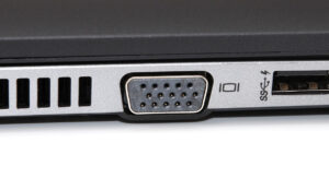 Particolare porta VGA EliteBook 850 G1