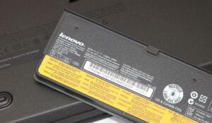 Particolare batteria Ultrabook Lenovo T450S